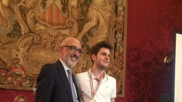 G. Pignataro, Adrea Ciprietti (Giulianova) primo classificato