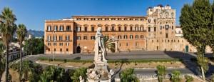 Palazzo Reale (Palazzo dei Normanni), fronte Nord-Est: